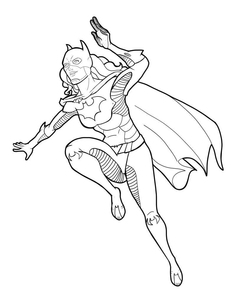 new 52 batgirl lineszclark on deviantart