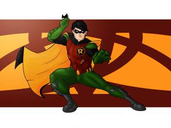 New 52 Robin (Grayson) by zclark