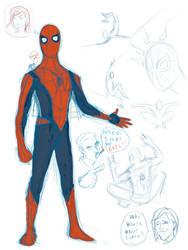 Spider-Man Redesign Doodle