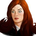 Amy Pond by zclark