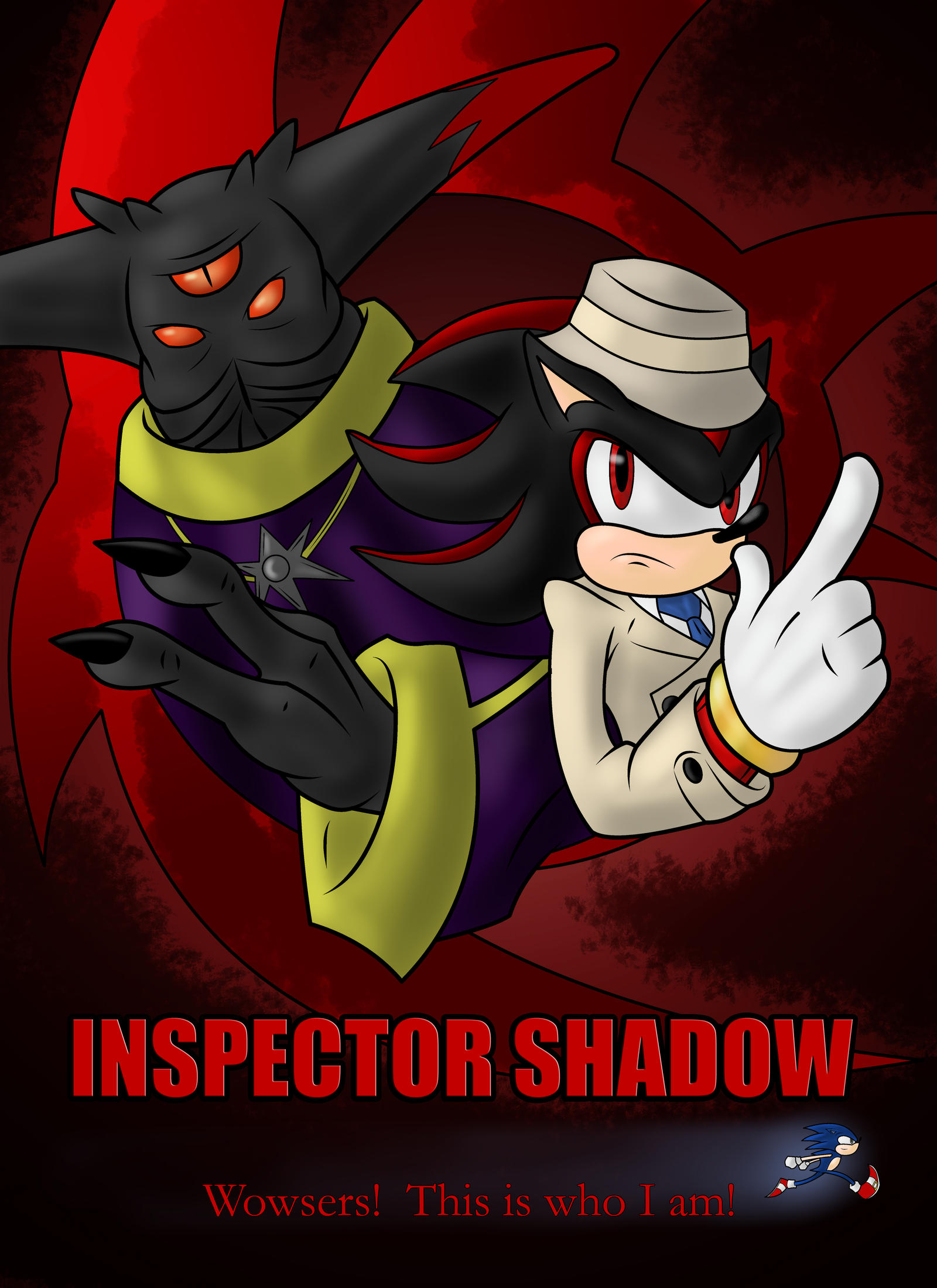 Inspector Shadow by zclark