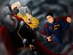 Supes vs Thor