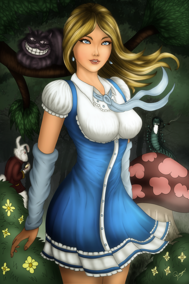 Alice's Adventure in Wonderland (Lewis Caroll) by ronggo
