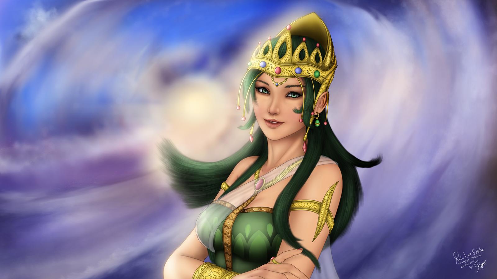 Ratu Laut Selatan 20Nov2015 (The South Sea Queen) by ronggo
