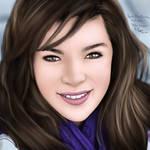 Digital Photo Painting 4 (Video- Hailee Steinfeld)