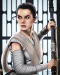 Rey The New Jedi Fanart (Timelapse Video)