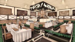 Visual Novel Project Restaurant Concept