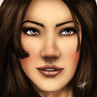 Photoshop realtime speed drawing by ronggo