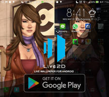 Jewel Android Live2D Live Wallpaper by ronggo