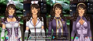 Jewel(OC) Live2D Live Wallpaper v1.1.6 (android)