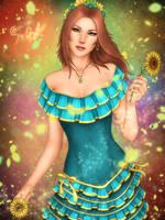 Sara (O.C) Sunflower Girl