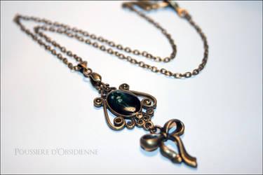 Collier Flower Spirit by PoussiereObsidienne