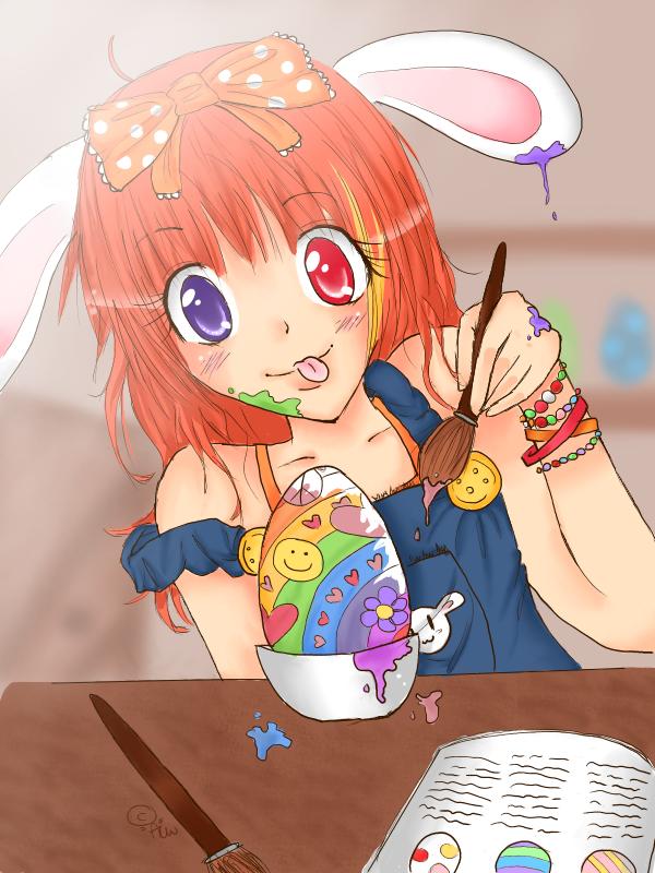 Happy Easter 2011 by MochiMochix3