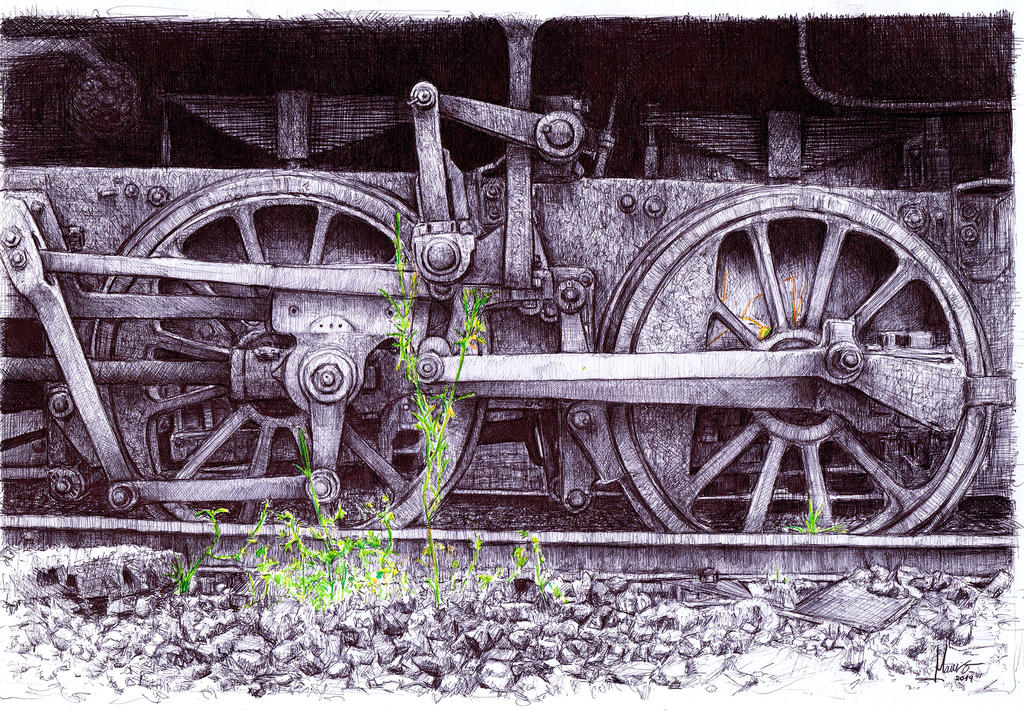 Train Wheels by el-Sheriff