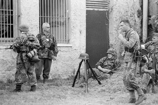 Reenactment Le Bocage Bunker el Cuetu 34