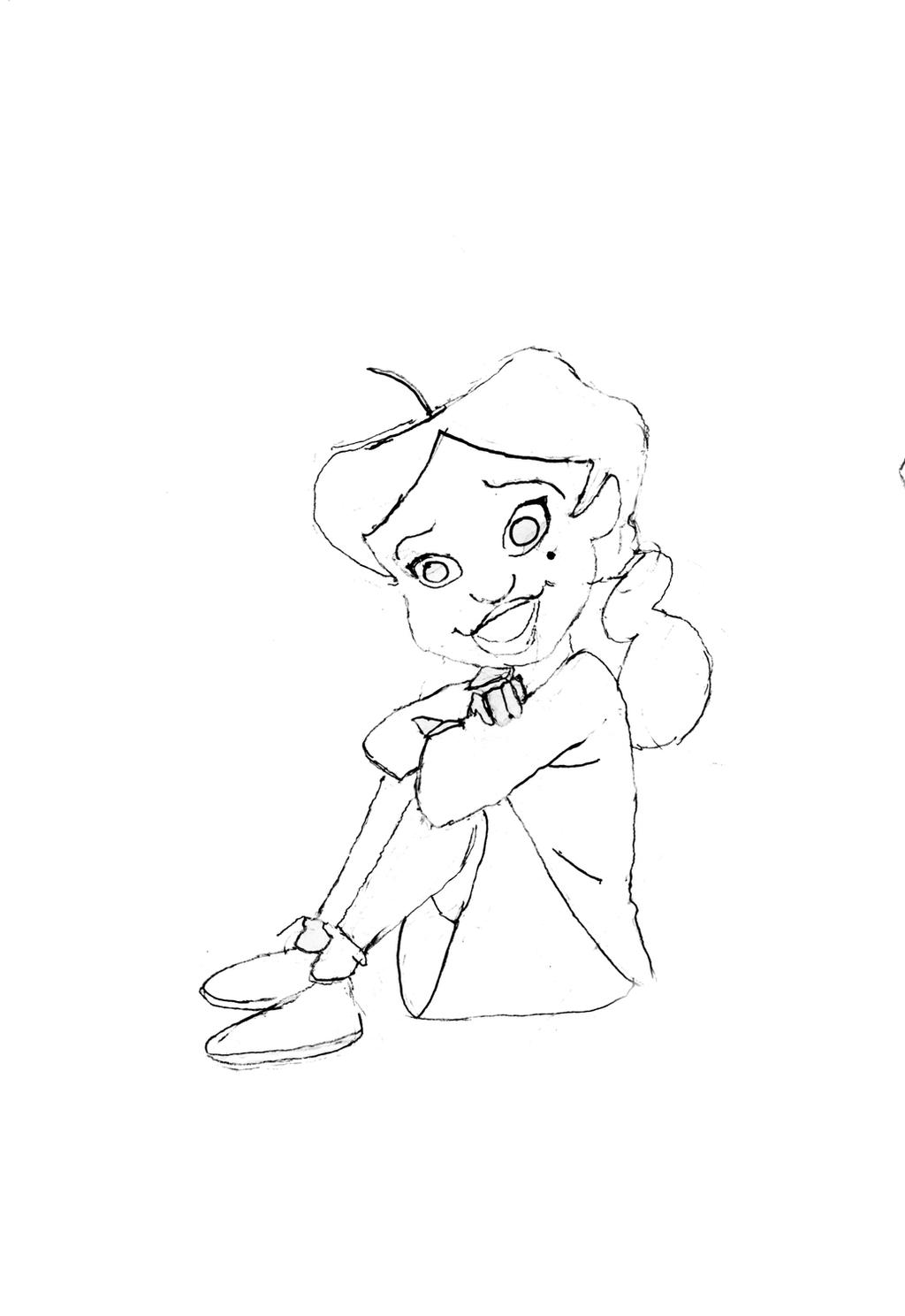 proud family coloring pages - penny proud by depressionmoon on deviantart