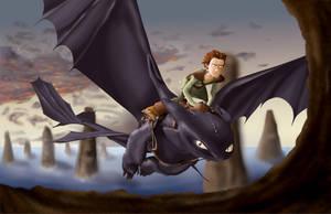 how to train your dragon by axruma