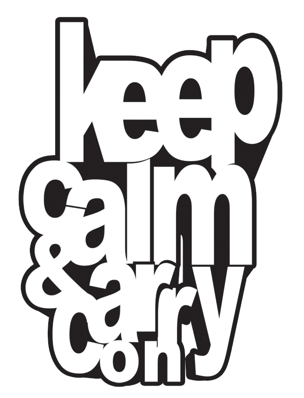 keep calm and carry on by CHIN2OFF