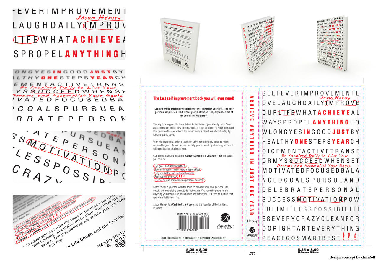 Achieve Anythingt book cover by CHIN2OFF