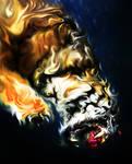 Liquid Tiger by CHIN2OFF