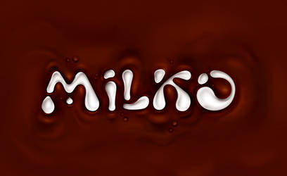 MILKO logotype redesign by CHIN2OFF