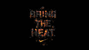 NIKE Brint the Heat type treatment