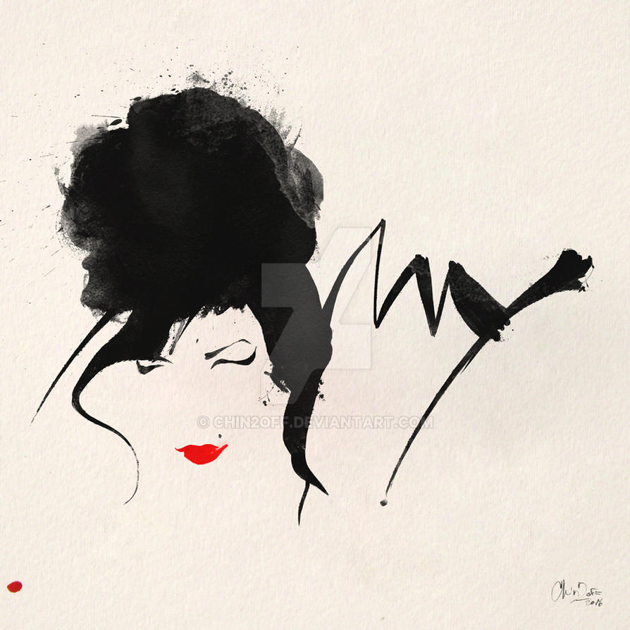 Amy Winehouse by CHIN2OFF