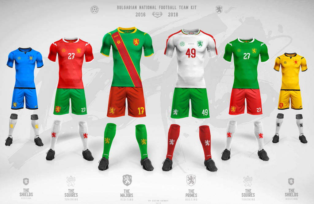 3b2eee41a Bulgaria National football team 2016-2018 kit by CHIN2OFF on DeviantArt