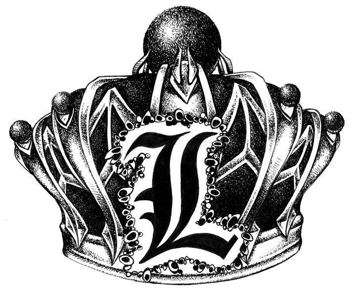 King B Crown Tattoo Crowns The Design Tattoo