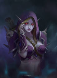 Sylvanas windrunner fanart by modamarsh