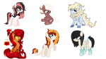 Selling oc's. AUCTION (OPEN)