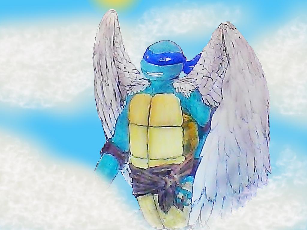 Avian Turtle Leonardo by Peacely