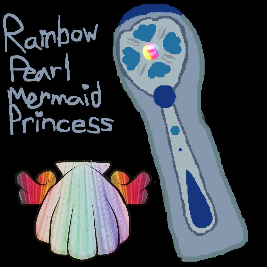 Rainbow Mermaid Princess Costume Gear by Peacely