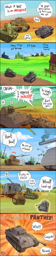 What if WoT is an MMORPG?