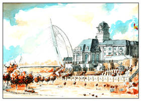 Istana Darul Ehsan by amade