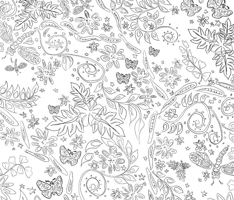 Batik Motif sketch v1.1 by amade on DeviantArt