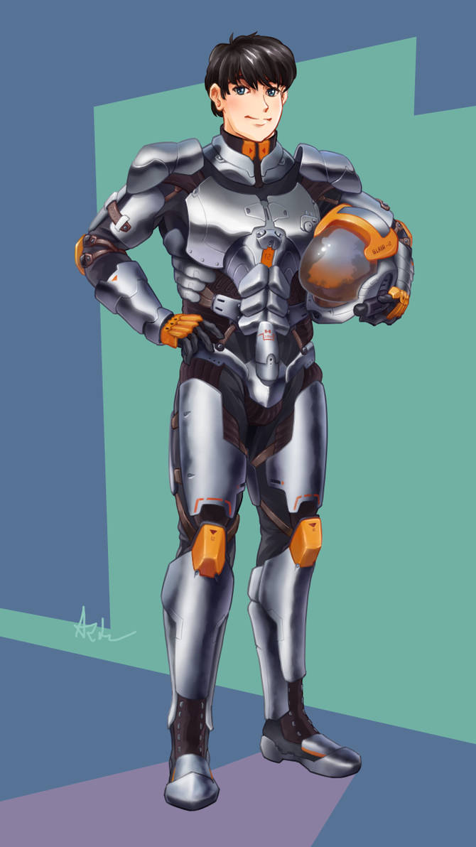 Mecha pilot armor