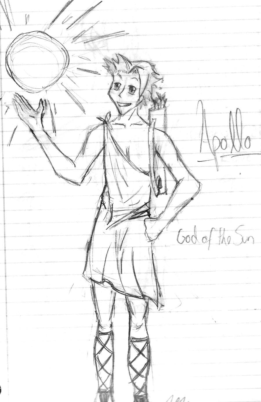 apollo drawing - photo #4