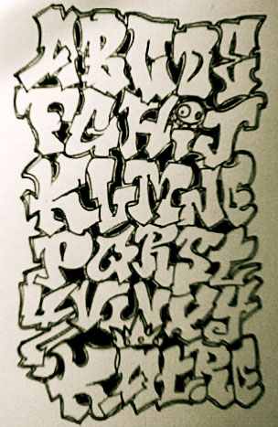Graffiti font block by lovepuppet on deviantart graffiti font block by lovepuppet thecheapjerseys Image collections