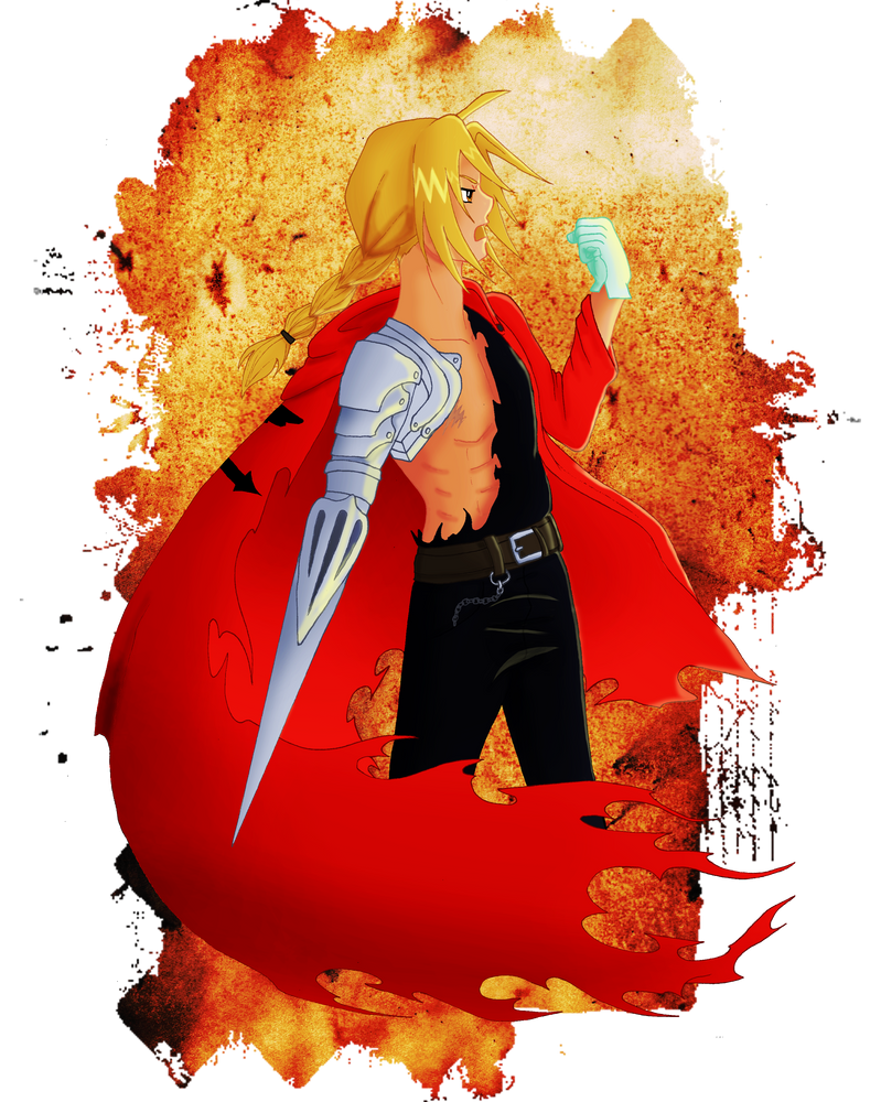 Edward Elric by CCDragon-93