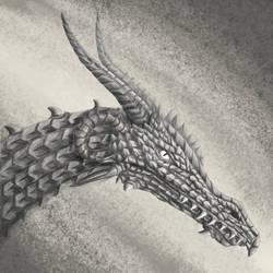 [Gift] Pencil Dragon by CCDragon-93