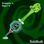 DP: Sacred Secrets Keyblade by UmbriHearts