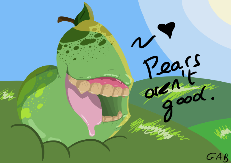 Pears Aren't Good by Dashiiedash
