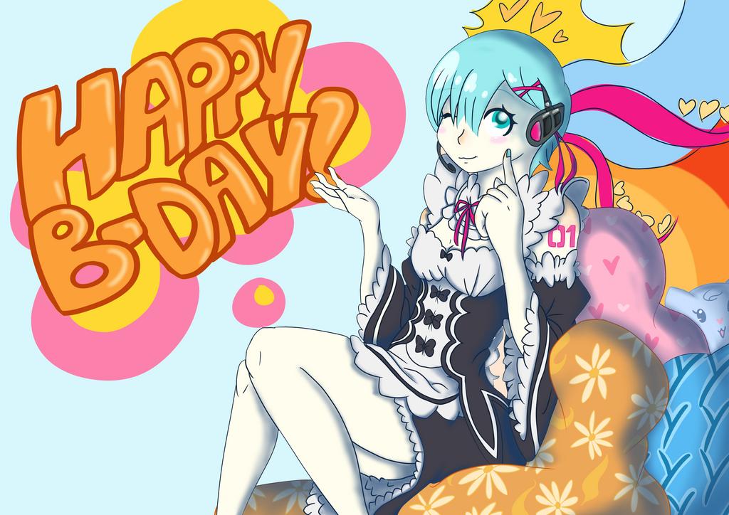 Remiku fusion - Happy B-day Enzo! by Dashiiedash