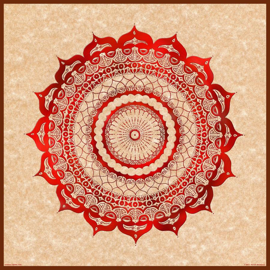 Lotus Flower Design Wall Paper : Omulyana red gallery mandala by mandalazone on deviantart