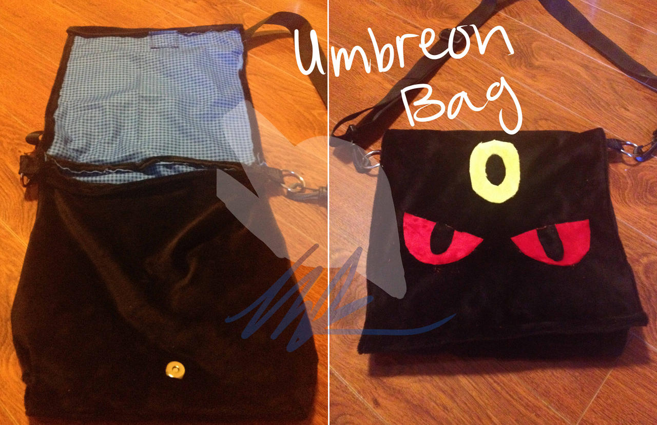 Handmade Umbreon Bag by KuroAkuOokami
