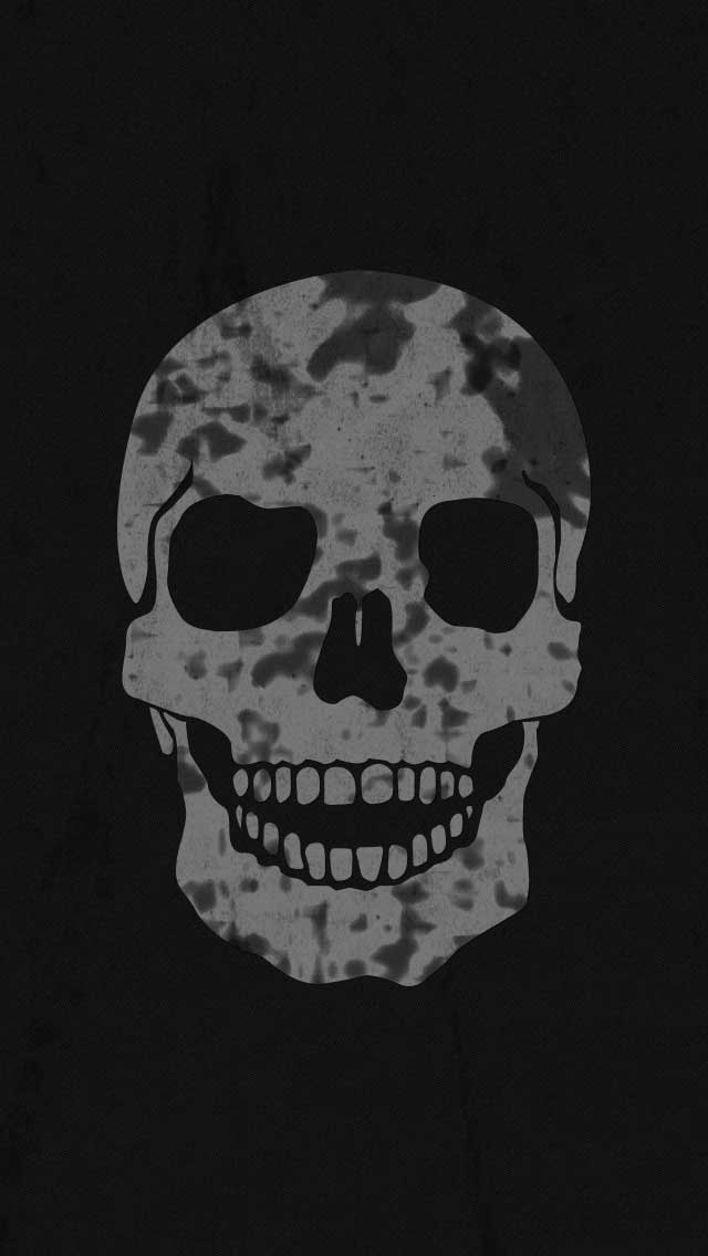 Skull IPhone Wallpaper By Vmitchell85