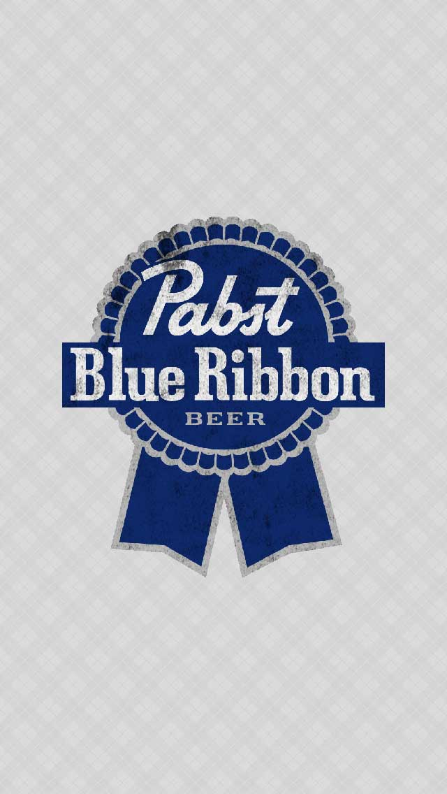 PBR iPhone Wallpaper by  Pabst Blue Ribbon Logo Wallpaper