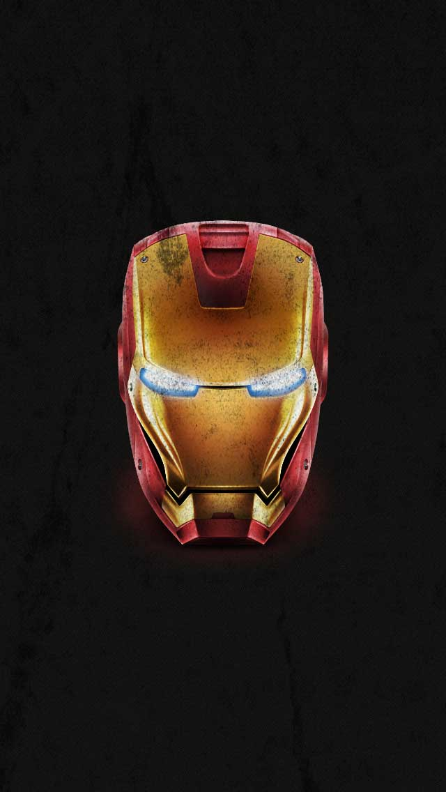 Iron Man Distressed IPhone Wallpaper By Vmitchell85