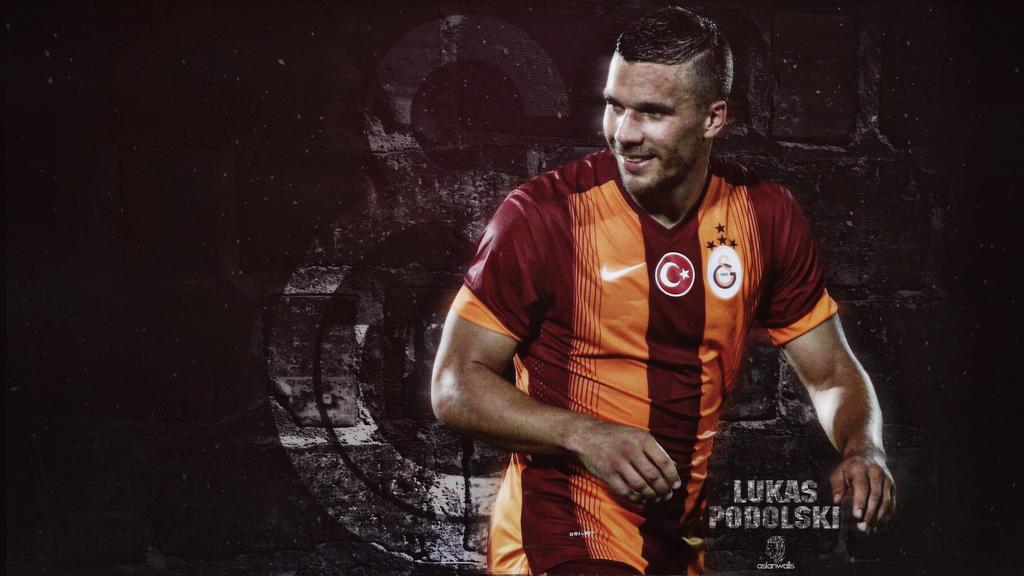 Lukas Podolski Galatasaray Wallpaper by acemogluali on ...